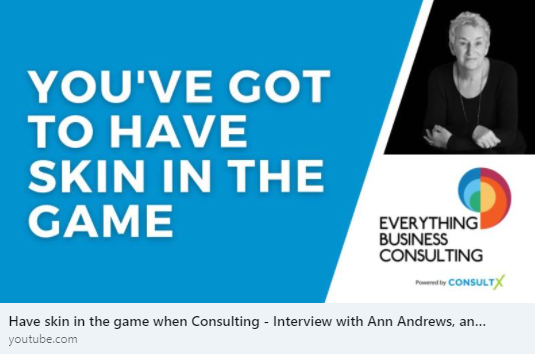 In this episode, we cover Ann's journey in becoming a consultant and dive into her experiences in HR, leadership, and business.